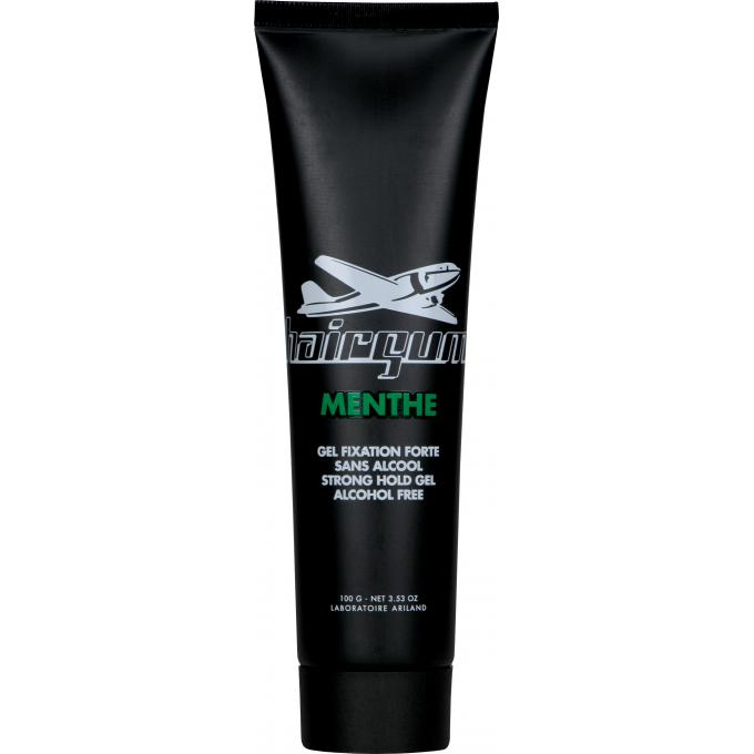 Gel fissante alla menta effetto bagnato hairgum gel cera capelli uomo - Gel effetto bagnato ...